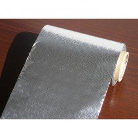 Aluxfoil alufólia csoki csomagolására prégelt ezüst, 50 m