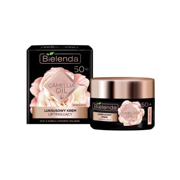 Bielenda Camellia Oil 50+ luxus lifting hatású arckrém, 50 ml