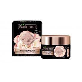 Bielenda Camellia Oil 70+ luxus revitalizáló hatású krém-koncentrátum, 50 ml