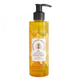 Beauty Bielenda Manuka Honey Nutri micellás arctisztító gél száraz érzékeny bőrre, 200 g