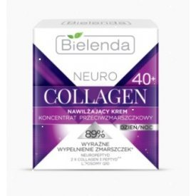 Bielenda Neuro Collagen 40+ nappali/éjszakai arckrém, 50 ml