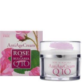 Bio Fresh rózsás Q10 bőröregedés gátló krém, 50 ml