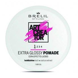 Brelil Art Creator Extra Glossy Pomade fényes wax, 50 ml
