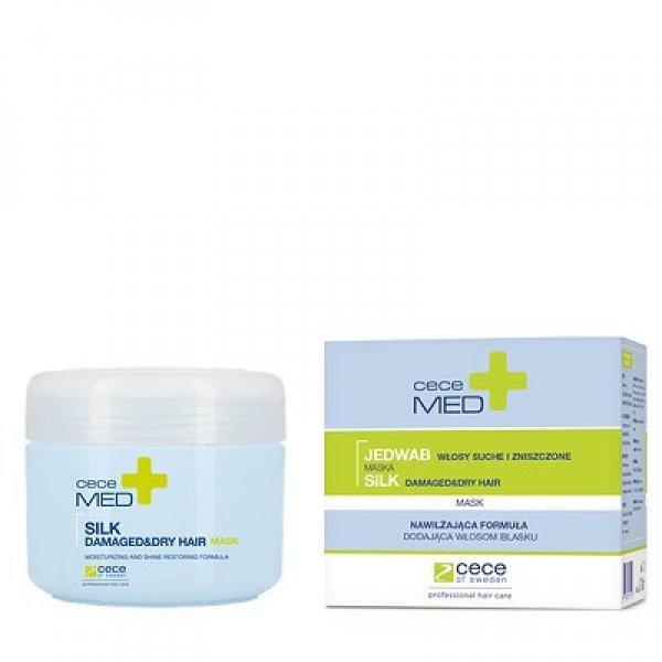 Cece Med regeneráló hajpakolás száraz és sérült hajra, 200 ml
