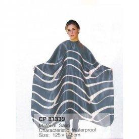 Chromwell fekete hullám gumis beterítőkendő 81339