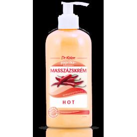 Dr. Kelen Hot (melegítő) masszázskrém, 500 ml