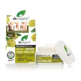 Dr. Organic Bio Oliva intenzíven hidratáló éjszakai krém, 50 ml