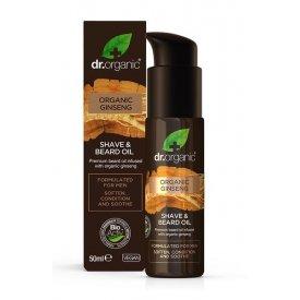 Dr Organic Ginzeng Men borotválkozó és szakállápoló olaj, 50 ml