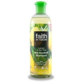 Faith in Nature citrom és teafa sampon, 250 ml