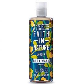 Faith in Nature Jojoba tusfürdő, 400 ml