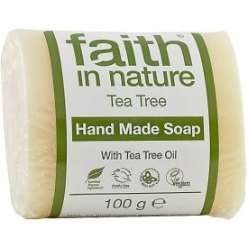 Faith in Nature szappan Bio teafa, 100 g
