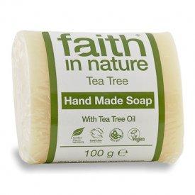 Faith in Nature teafa szappan, 100 g