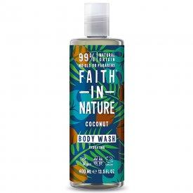 Faith in Nature tusfürdő, kókusz, 400 ml