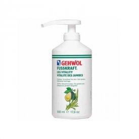Gehwol Fusskraft Leg Vitality lábkrém, 500 ml