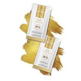 Golden Green 24K Gold lehúzható alginát arcmaszk 10 g és 24K Gold kolloid aktiváló oldat 20 ml