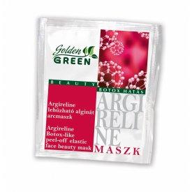 Golden Green Argireline botox-hatású lehúzható alginát pormaszk 6g