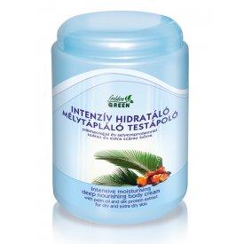 Golden Green Mélytápláló hidratáló testápoló pálmaolajjal és selyemproteinnel 1000ml