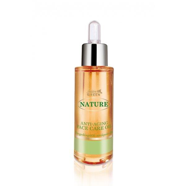 Golden Green Nature  öregedésgátló arcápoló olaj, 30 ml