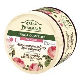 Green Pharmacy nappali és éjszakai hidratáló arckrém rózsa kivonattal, 150 ml