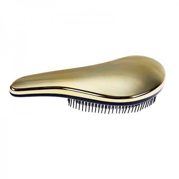Hair Power hullámos bontókefe, arany metál