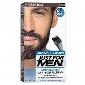 Just for Men szakáll és bajusz színező, fekete M-55