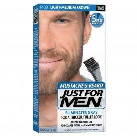 Just for Men szakáll és bajusz színező, világos-középbarna M-30