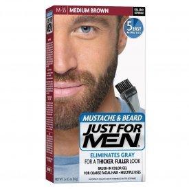 Just for Men szakáll és bajusz színező, középbarna M-35