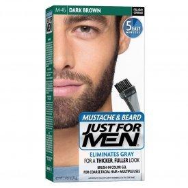 Just for Men szakáll és bajusz színező, sötétbarna M-45