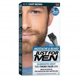 Just for Men szakáll és bajusz színező, világosbarna M-25