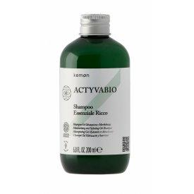 Kemon Actyvabio intenzív sampon esszencia, 200 ml