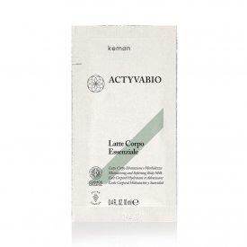 Kemon Actyvabio testápoló tej esszencia, 10 ml