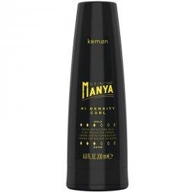 Kemon Hair Manya Hi Density Curl tartást adó krém göndör hajra, 200 ml