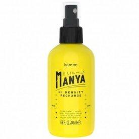 Kemon Hair Manya Hi Density Recharge spray göndör hajra, 200 ml