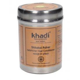 Khadi Shikakai hajnövekedést serkentő, hajerősítő természetes kondicionáló por, 150 g
