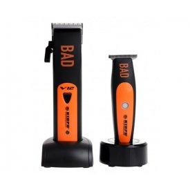 Kiepe Bad Combo akkumulátoros hajvágógép és trimmelő szett, 6355