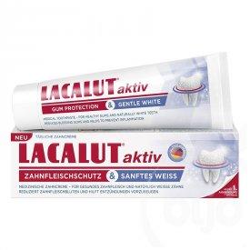 Lacalut aktiv whitening fogkrém, 75 ml