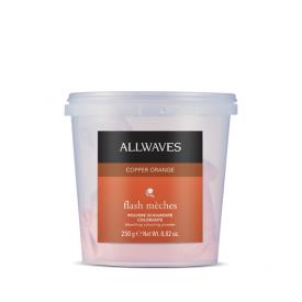 Allwaves Flash Meches melírpor, Copper Orange, 250 g