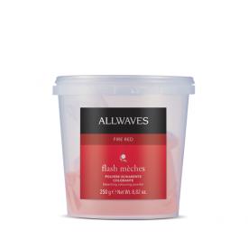 Allwaves Flash Meches melírpor, Fire Red, 250 g