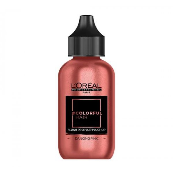 Loreal Professionnel COLORFUL Hair Make up DACING PINK, Rose Gold, 90 ml