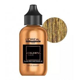Loreal Professionnel Colorful Hair Make up Gold Digger, arany, 90 ml