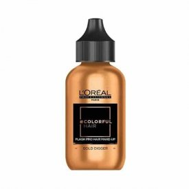 Loreal Professionnel COLORFUL Hair Make up GOLD DIGGER, arany, 90 ml