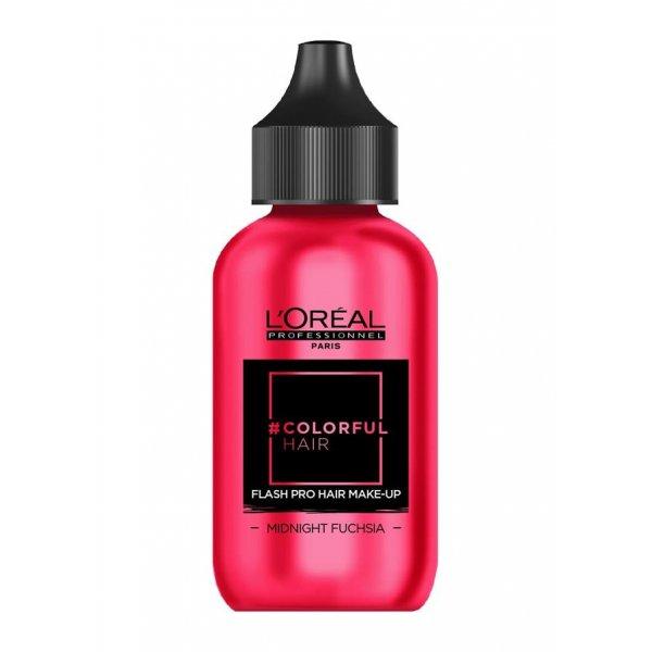 Loreal Professionnel COLORFUL Hair Make up Midnight Fuchsia, rózsaszín, 90 ml