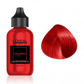 Loreal Professionnel COLORFUL Hair Make up RED HOT, piros, 90 ml