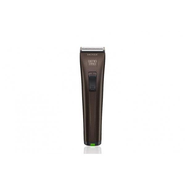 Moser Genio Pro akkumulátoros LED-es hajvágógép, barna 1874-0050