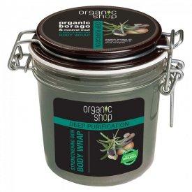 Organic Shop ásvány terápia mélytisztító-erősítő pakolás, 350 ml