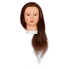 Original Best Buy Lady babafej humán hajjal, 60 cm
