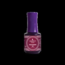 Perfect Nails Fiber Vitamine üvegszálas építő lakkzselé, 15 ml