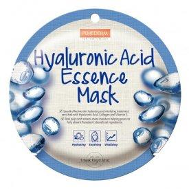 PureDerm Hialuron hidratáló és bőrfeltöltő circle fátyolmaszk, 1 db