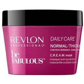 Revlon Be Fabulous Daily Care hajpakolás normál és vastagszálú hajra, 200 ml