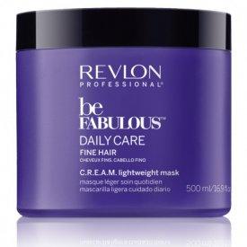 Revlon Be Fabulous Daily Care Cream Lightweight maszk vékonyszálú hajra, 500 ml